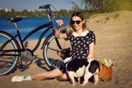 cykel hund